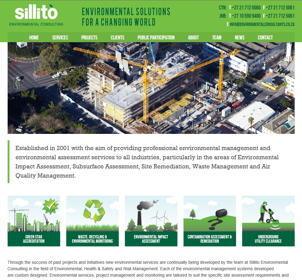 Sillito Environmental Consulting